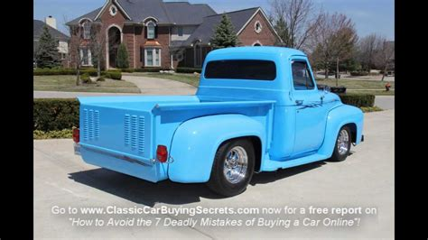 1953 ford f 100 pickup classic muscle car for sale in mi