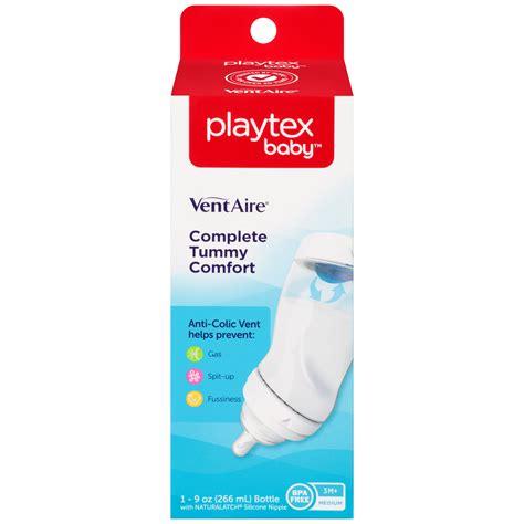 Murah Playtex Baby Naturalatch 0 3m playtex ventaire complete tummy comfort 9 oz bottle peg