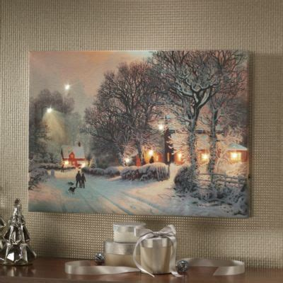lighted christmas canvas art 31 best led light up pictures images on pinterest light