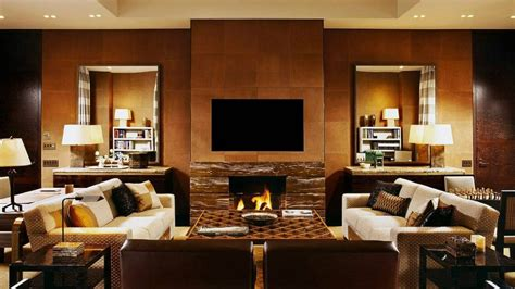 Hotel Living Room Design by Four Seasons Hotel New York Hotels Style