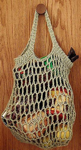 crochet pattern grocery bag a la caza del patr 243 n perfecto bolsas de la compra la