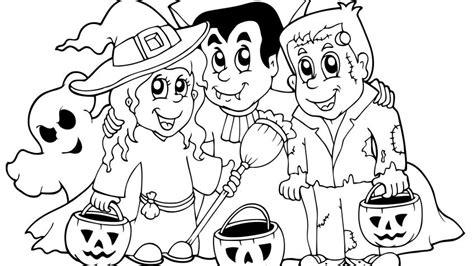 imagenes de halloween tiernas para colorear dibujos de halloween para colorear hogarmania