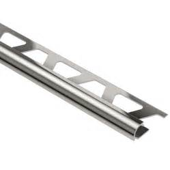 shop schluter systems 3 8 in polished nickel anodized