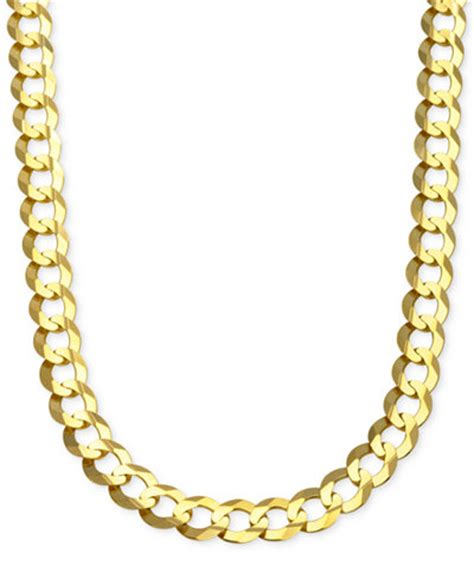 A Kalung Yaxiya Chain Gold Cuban Chain Link Necklace In 10k Gold Necklaces