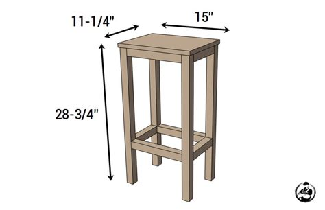 easiest bar stools free diy plans rogue engineer
