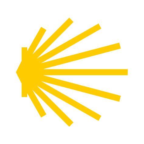Aufkleber Transparent Briefkasten by Jakobsweg Aufkleber Jakobsmuschel Transparent Gelb