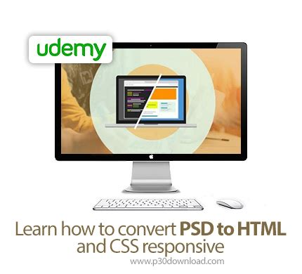 psd to html convert how to bootstrap tutorial for udemy learn how to convert psd to html and css responsive
