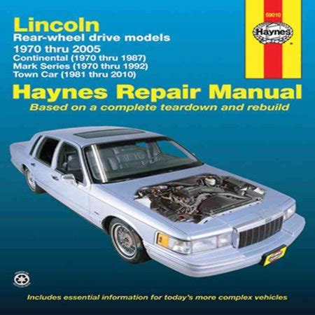 car maintenance manuals 1992 lincoln town car on board diagnostic system service manual 1992 lincoln town car rear differential service manual service manual how to