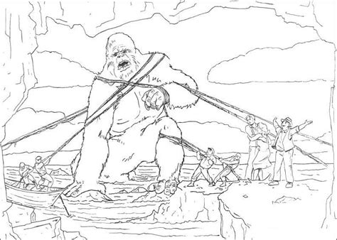 krafty kidz center king kong movie coloring pages