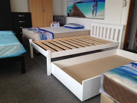pine bed with bed drawer for sale in cape town