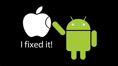 android vs apple android vs apple wallpapers wallpaper cave