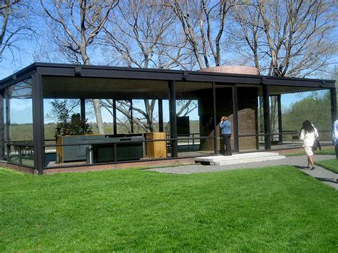 glass house ct johnson s glass house marcantonio architects