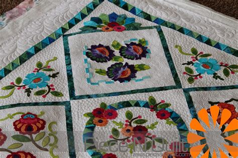 Machine Embroidery Quilt Patterns by N Quilt May 2014