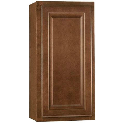 hton bay cognac cabinets hton bay hton assembled 15x30x12 in wall kitchen