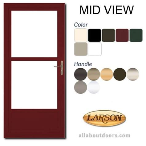 larson storm doors windows parts hardware