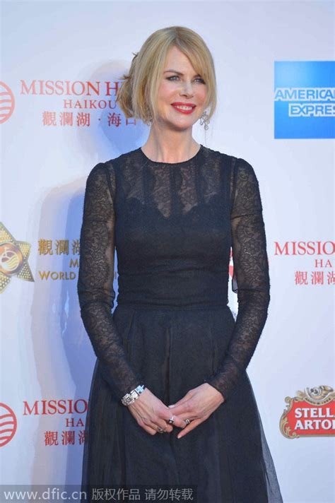 actress of mission china mission hills group unites world celebrities in hainan 5