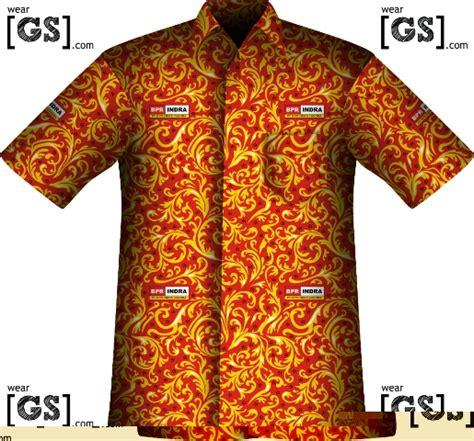 Hem Batik Indra seragam batik perusahaan