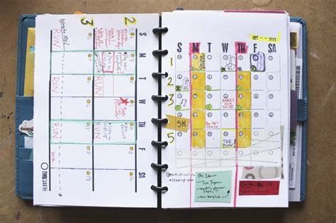 Galerry free printable planner 2018 pages