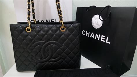 Chanel Gst Semi Premium Authentic branded for less 100 authentic and new chanel gst in gold hardware
