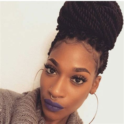 Twist Hairstyles For Black Hair by 29 Senegalese Twist Hairstyles For Black Stayglam