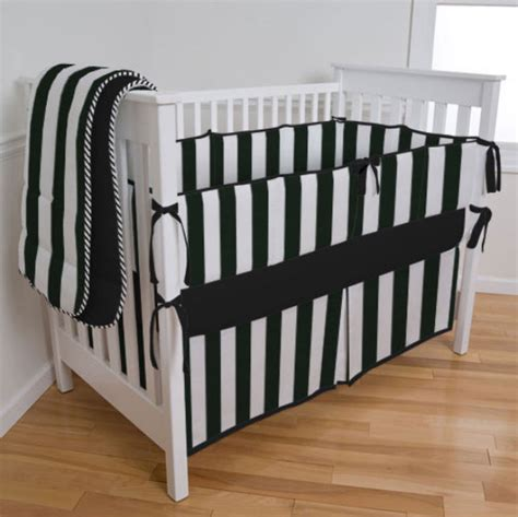 Black And White Crib Bedding Set Black And White Crib Bedding Sets Highlight Custom Creations Carousel Designs