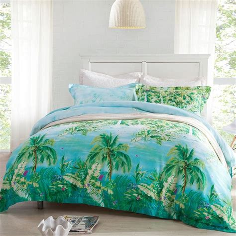 25 Best Palm Tree Bedding Ideas On Pinterest Beach Baby Hawaiian Print Bedding Sets