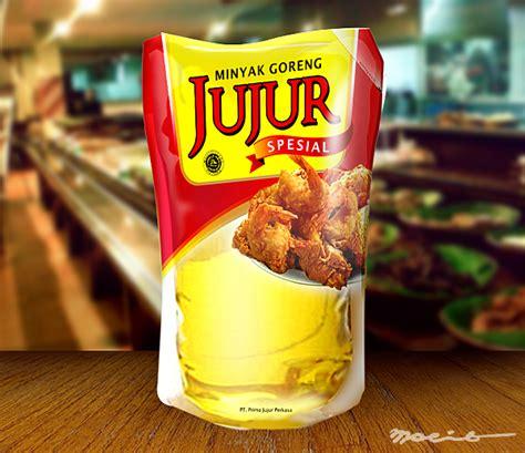 Minyak Goreng Jujur sribu desain kemasan desain kemasan untuk minyak goreng