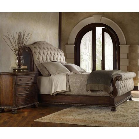 hooker bedroom set adagio tufted bed 3 piece bedroom set 5091 905xx 3pc pkg