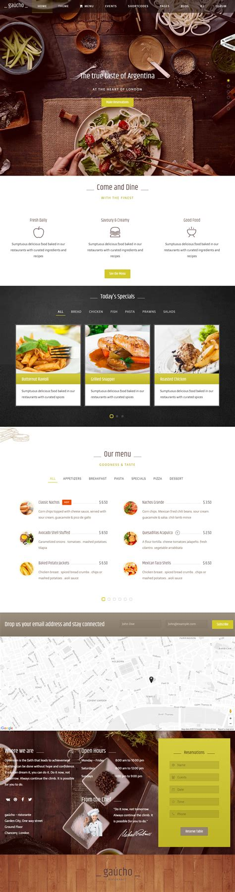 joomla responsive templates 5 best responsive joomla food template 2017 responsive