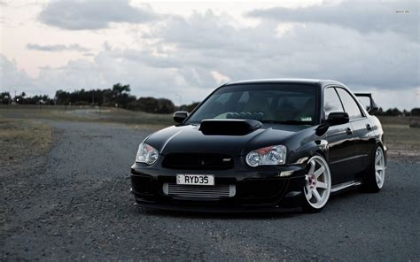 stanced subaru hd subaru wrx sti wallpapers wallpaper cave
