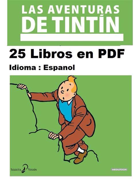 las aventuras de tintin 8426102786 coleccion de 25 libros las aventuras de tintin tin tin