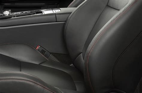 perforated leather upholstery 2018 jaguar xj r sport swb jaguar usa