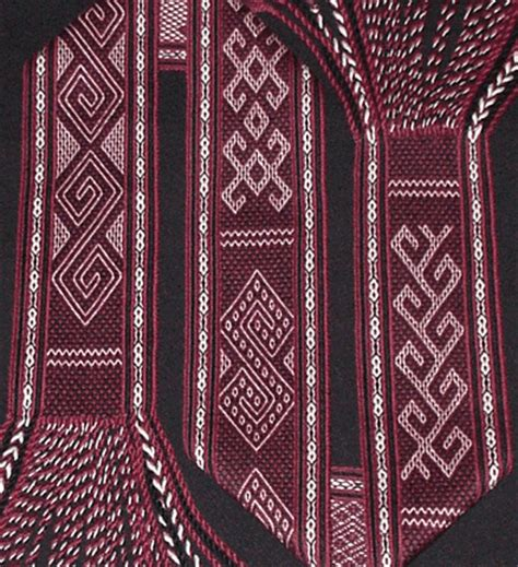 Toraja Ii Skirt tablet weaving traditional motifs from sulawesi