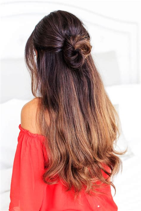 lazy hairstyles for long hair elle hairstyles