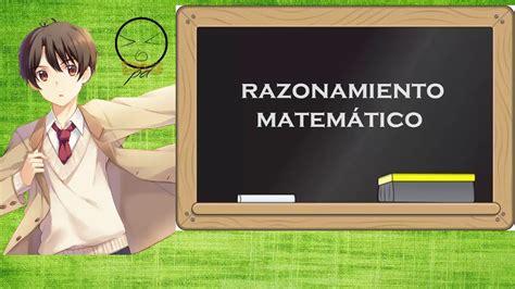 imagenes razonamiento matematico razonamiento matem 225 tico para ni 241 os youtube