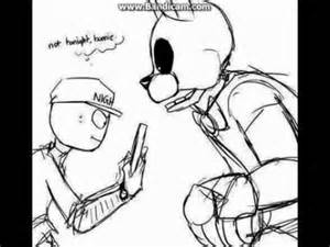 Fnaf comic dub not tonight bonnie youtube