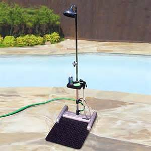 outdoor portable shower station ss100