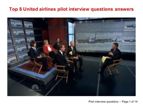 top 8 united airlines pilot questions answers