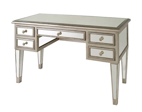 mirrored desk vanity table lhu41619