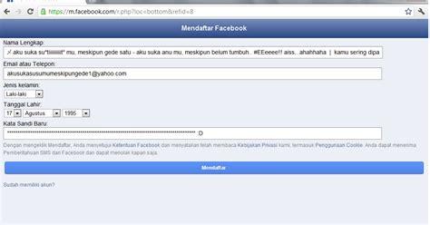 membuat nama facebook yang bagus cara membuat nama panjang facebok update a little
