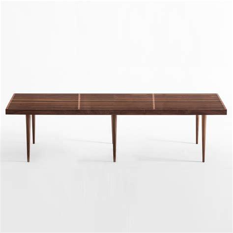 slatted bench slatted bench mel smilow smilow furniture suite ny
