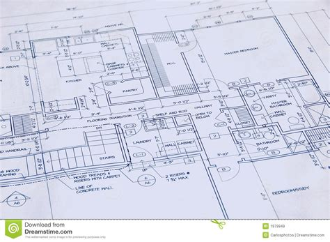 blueprint for houses blueprint of a house royalty free stock images image