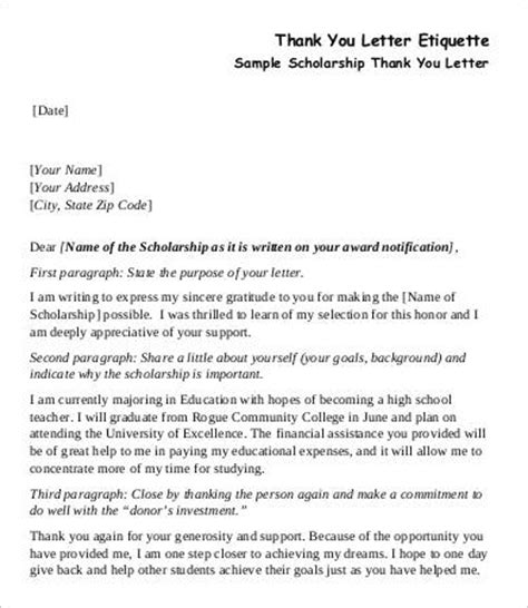 Thank You Letter To Assistant From Parent Thank You Letter 8 Free Sle Exle Format Free Premium Templates