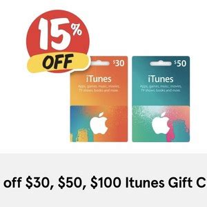 Register Itunes Gift Card - 15 off itunes gift cards 30 50 100 now 25 50 42