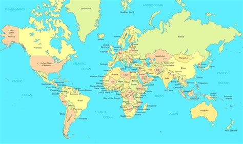 map of the map of the world our homework help