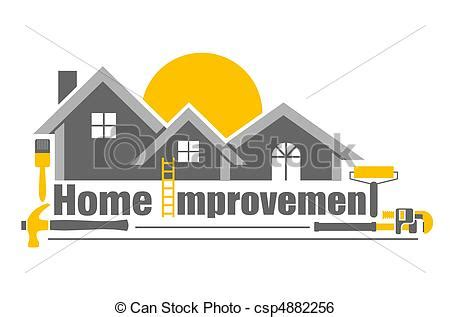 home improvement an illustration of home improvement icon