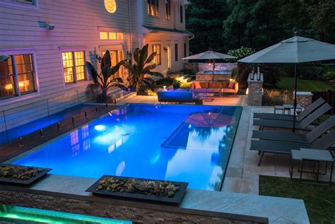 Backyard Pools By Design Saddle River Nj Swimming Pool Receives Award For Design