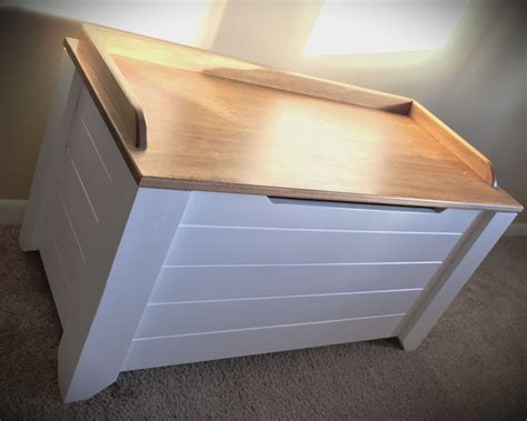 diy toy box with drawers farmhouse style toy box blanket chest diy projects