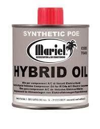 ester oil  ml    compressors  hybrid