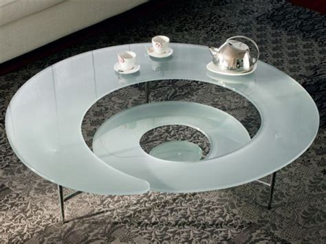 futuristic coffee table the futuristic spiral coffee table